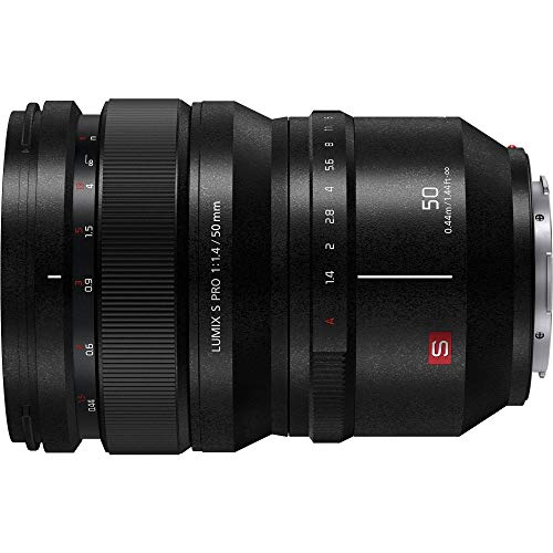 Panasonic LUMIX S Pro 50mm F/1.4 MILC Negro - Objetivo (MILC, 13/11, 0,44 m, 1,4-16, 5 cm, Panasonic)
