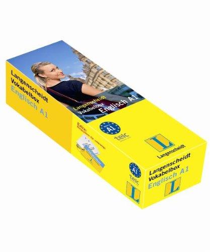 Langenscheidt Vokabelbox Englisch A1 - Box mit 800 Karten (Langenscheidt Vokabelbox A1)