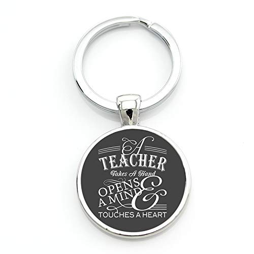 Cadeau Pour La Journée Des Enseignants Porte-clés Le Meilleur Enseignant Présent Coupé Porte-clés De Voiture Porte-Bague Pour Hommes Et Femmes Bijoux