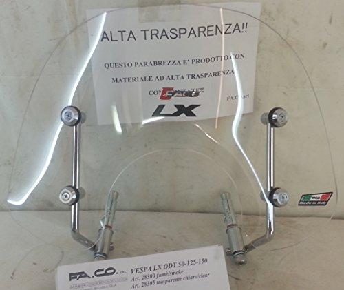VESPA LX 50-125-150 O.D.T. Cupolino trasparente A/CROM