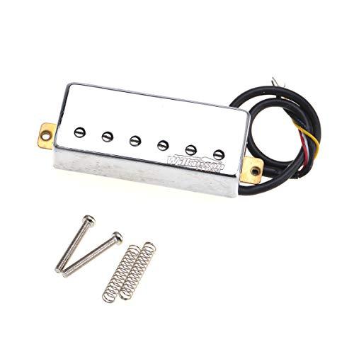 Wilkinson Serie M Céramique Pastilla Mini Humbucker Puente Pickup para Guitarra Eléctrica...