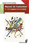 Manuel de traduction II - De l'espagnol vers le français - Version
