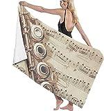 Flauta, Música, Adolescente, Resistente A La Arena, Fibra Extrafina, De Gran Tamaño para Hombres, para SPA, Camping, Luna De Miel, Natación, Ejercicio O Entrenamiento, Crucero, Surf, Vacaciones TRO