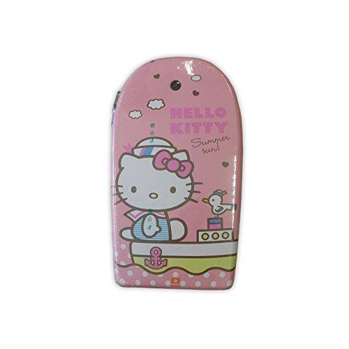 Lively Moments Hochwertiges Bodyboard von Hello Kitty ca. 104 cm Hello Kitty auf Boot