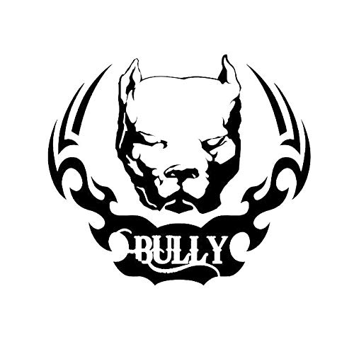 15.2 * 13.3CM Pit Bull Dog Vinyl Decal Funny Animal Personality Car Sticker Motorcycle Accessories C6-1484