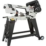 Klutch Horizontal/Vertical Metal Cutting Band Saw - 4 1/2in. x 6in. 3/4 HP, 120V