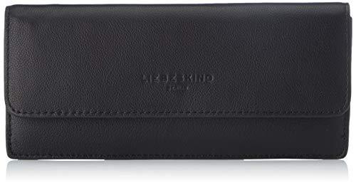 Liebeskind Berlin Damen Basic Marina Reisezubehör- Brieftasche, Black, Large