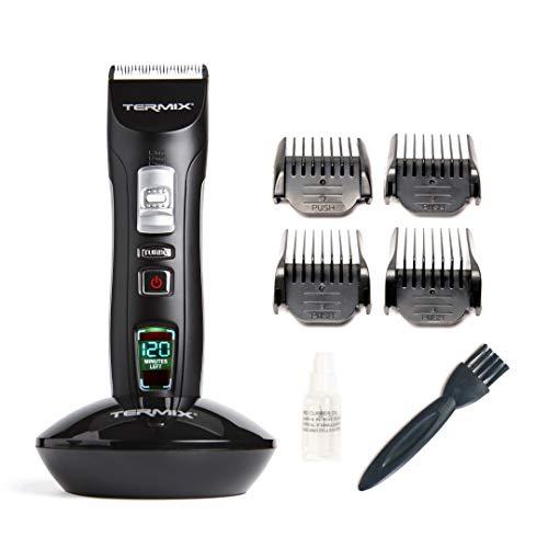 Termix Power Cut- Máquina de corte inalámbrica- Corta pelo profesional con tres juegos de cuchillas regulables, regulación para 3 alturas de corte adicionales y batería para 120 minutos de trabajo