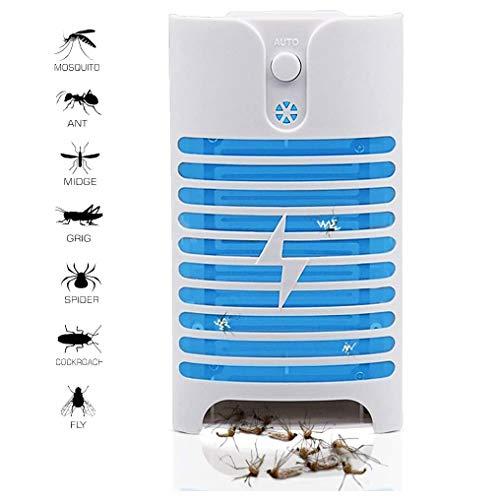 LanFun Insektenvernichter, Elektrischer Insektenfänger Mückenfalle Mückenschutz Fliegenfalle Elektrisch Innen Insektenfalle Mückenstecker Mückenlampe UV-Licht LED Fliegenfänger
