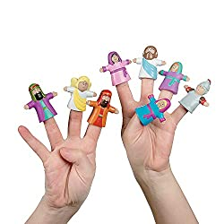 He Lives! Finger Puppets - Vacation Bible School & Toys & Games