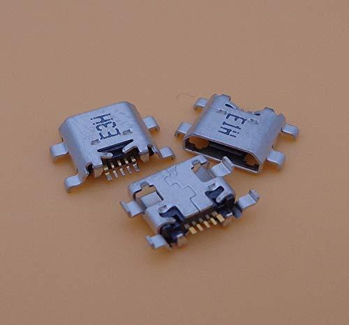 Ochoos Conectores - 1 conector micro USB para Huawei P6 P7 P8 P9 P10 P9 Lite Plus G9 puerto de carga para Honor 3C 3X 4C 4X 6 6X