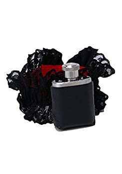 Forum Novelties Roaring 20 s Gangster Girl Garter and Flask Black One Size