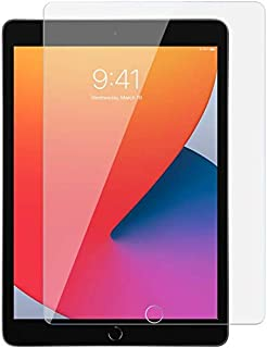 Al-HuTrushi Screen Protector Fit iPad 8th Generation 2020/iPad 7th Generation 2019 [9H Hardness] Tempered Glass Screen Pro...