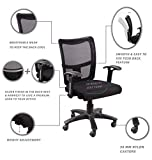 """Seat chacha Brio Home Office Chair with Nylon Base & castors 26""""*24""""*37"""" Office"""