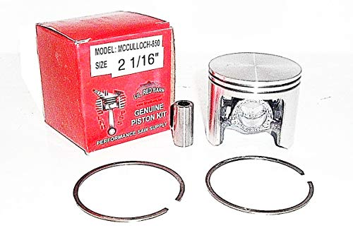 Great Features Of McCulloch PRO MAC 850 805 800SP Super PRO 81, 2 1/16 Chainsaw Piston Kit Replaces...