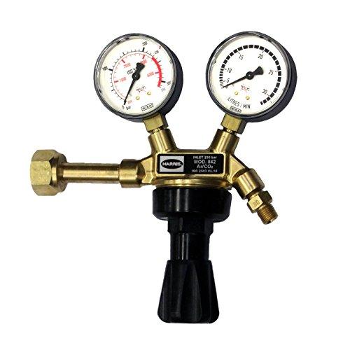 HARRIS Druckminderer Druckregler Gasdruckregler Argon 30 l/min. R 1/4''