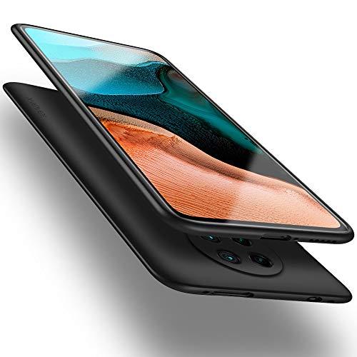 X-level Xiaomi Poco F2 Pro Hülle, [Guardian Serie] Soft Flex TPU Hülle Superdünn Handyhülle Silikon Bumper Cover Schutz Tasche Schale Schutzhülle für Xiaomi Poco F2 Pro 5G - Schwarz
