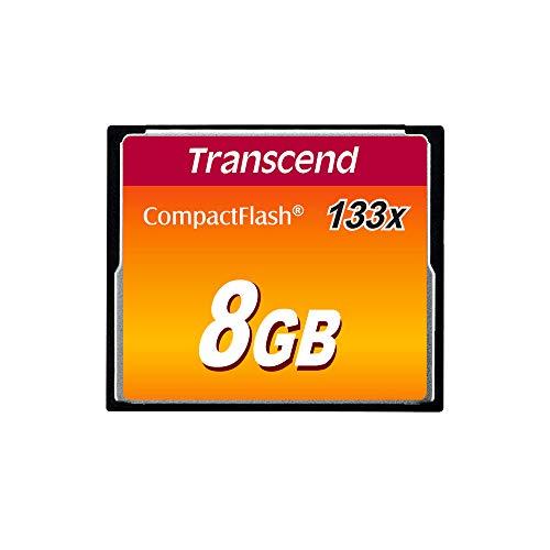 Transcend TS8GCF133 - Memoria Compact Flash de 8 GB