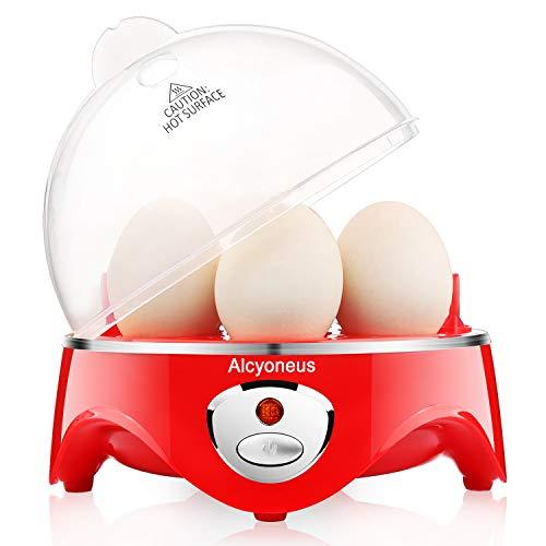 Alcyoneus Egg Cooker, Egg Boiler Electric, Noise-Free Hard Boiled Egg...