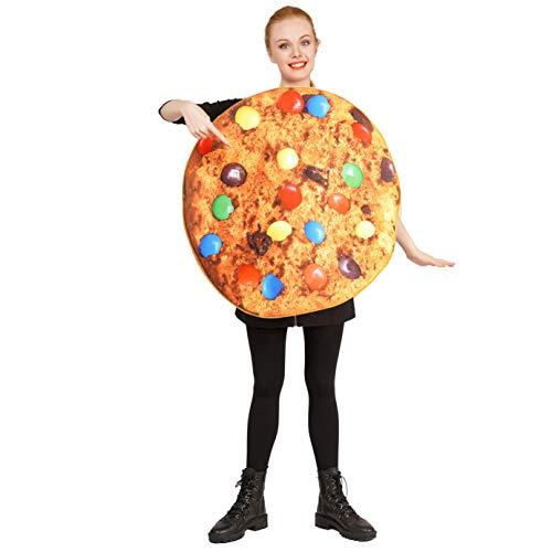 DSplay Unisex-Erwachsene Keks-Kostüm
