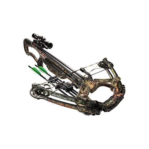 BARNETT Raptor Pro str Crossbow| Realtree Camo Crossbow| Shoots 400 Feet Per Second