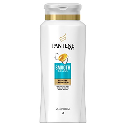 Pantene Pro-V Smooth & Sleek Shampoo, 595 mL, packaging may vary