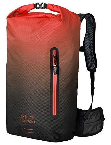 Jack Wolfskin Halo 26 Pack Fahrrad Wander Rucksack, Aurora orange, ONE Size
