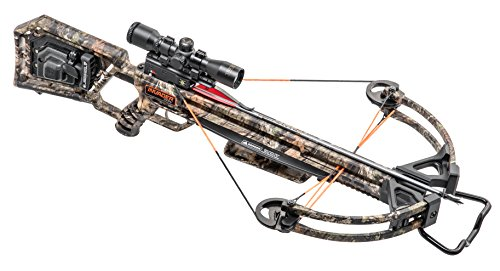 Wicked Ridge by TenPoint Invader X4 Crossbow Package with Multi-Line Scope, Quiver, Arrows, and ACUdraw 50 (WR18005-5531), Camo