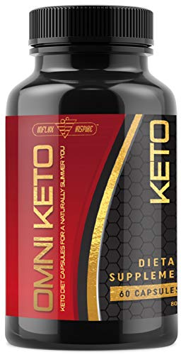 Keto Weight Loss Diet Pills - Fat Burner for Men & Women - Ketogenic Supplement Created to Block Carbs and Maintain Ketosis - 800mg - 60 Capsules