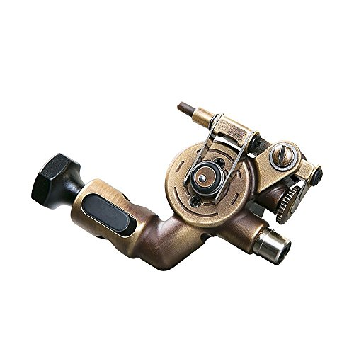 Dragonhawk Extreme X2 Rotary Tattoo Machine Brass Frame CNC Machine RCA Connected for Tattoo Artists 099 (X2 Cooper)