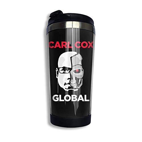 Taza de café de acero inoxidable Carl Cox Fashion para hombres y mujeres