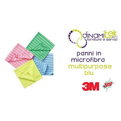 3M Mikrofasertuch Universal 14, blau (PACK à 10 STÜCK)
