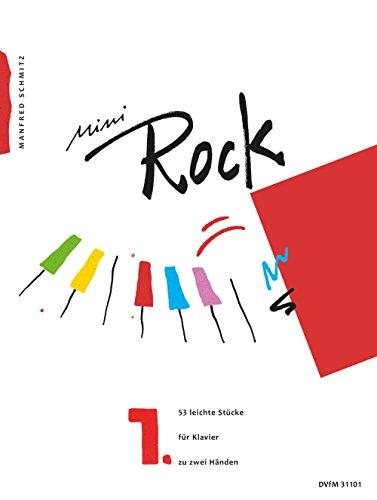 Mini-Rock für Klavier Heft 1: 53 leichte Stücke (DV 31101)