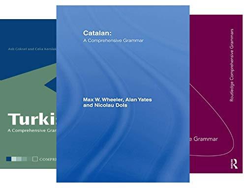 Routledge Comprehensive Grammars (25 Book Series)
