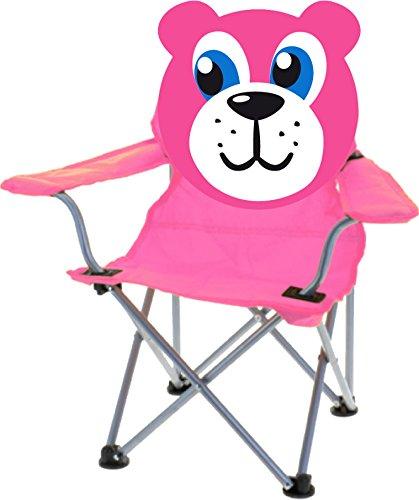 Hibuy klapstoel voor kinderen met grappig diermotief. Vouwstoel strandstoel met verschillende motieven