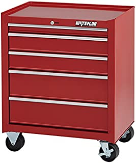 Waterloo Shop Series 5-Drawer Tool Cabinet with Full-Extension Friction Drawer Slides and 18