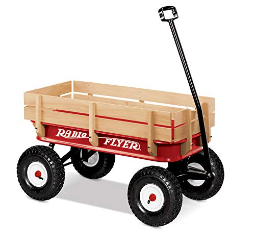 "Radio Flyer 36"" All-Terrain Steel & Wood Wagon"