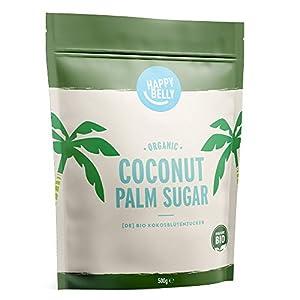 Marca Amazon - Happy Belly Azúcar de coco ecológico, 6 x 500g