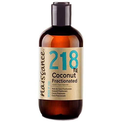 Naissance Huile de Coco Fractionnée (n° 218) - 250ml – 100% pure et naturelle – inodore, légère et émolliente, sans film gras
