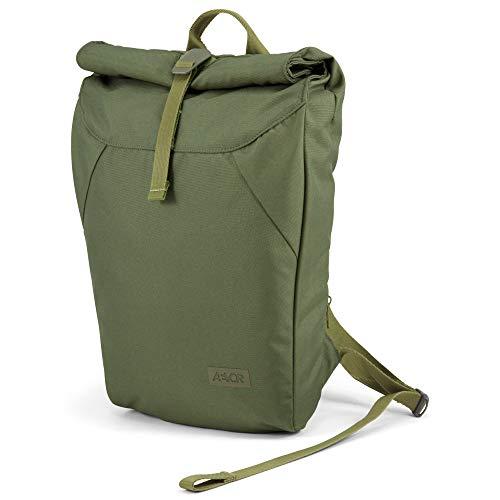 AEVOR Rolltop - erweiterbarer Rucksack, wasserabweisend, gepolsterter Rücken - Pine Green