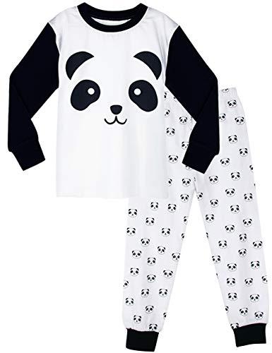 MOMBEBE COSLAND Pijama Panda Niño Manga Larga (4 años,