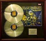 Iron Maiden - doble disco de platino y la presentación - en vivo después de la muerte