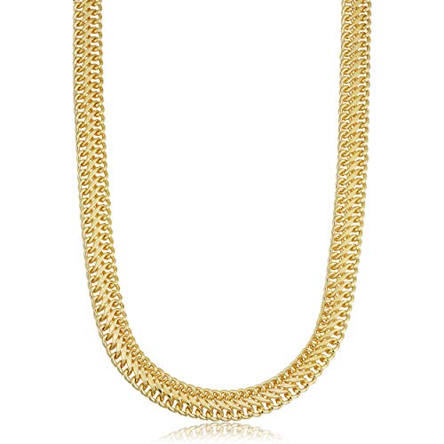 14k Yellow Gold Filled 9 mm Saduza Necklace Statement Jewelry for Women