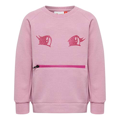 Lego Wear Duplo Girl Lwsophia 604-Sweatshirt Sweat-Shirt, Rose (Rose 434), 86 Bébé Fille