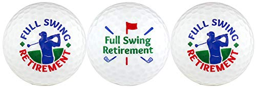 EnjoyLife Inc Retirement w/Golfer Golf Ball Gift Set