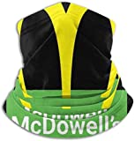 Coming to America McDowells Logo Face Mask Bandanas for Dust, Outdoors, Festivals, Sports