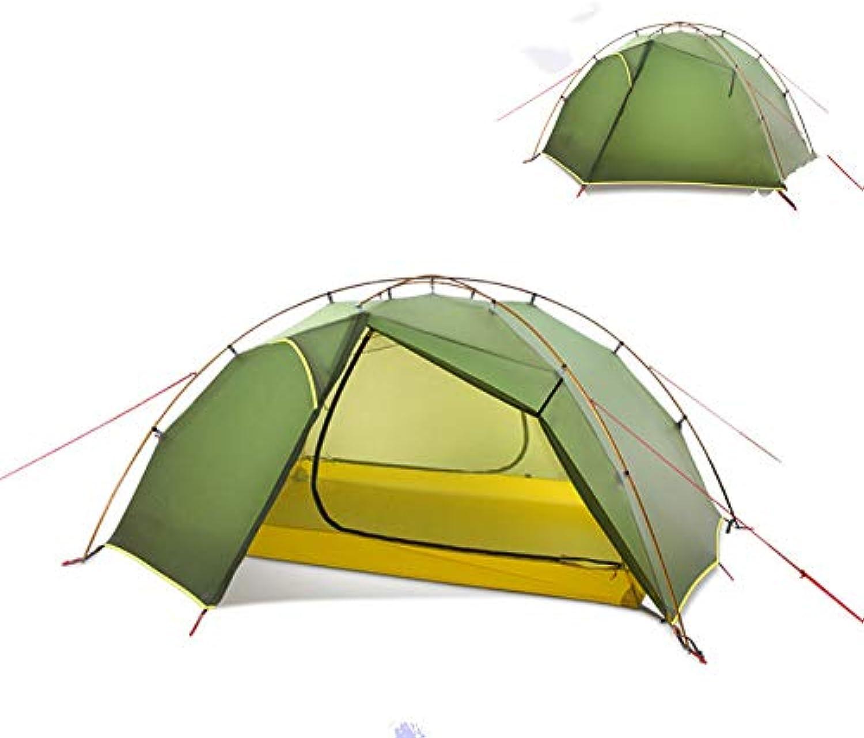 BUYGLI Tent 2019 NeueOutdoor 3 Jahreszeiten   4 Jahreszeiten 15d2-Personen-Campingzelt