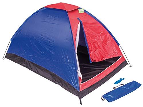 SF SAVINO FILIPPO Tenda da Campeggio 2 o 4 posti Igloo Canadese per Sacco a Pelo Mini Gazebo Impermeabile per Camping Mare Spiaggia Scout