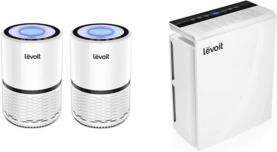 Max 82% OFF LEVOIT online shopping Air Purifier for Home Smokers and Allergies Pets Tr Hair