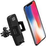 Modohe Supporto Auto Smartphone Porta Cellulare Auto Universale 360 Gradi di Rotazione per Telefono iPhone12 11/X/8/7/6, Samsung S9/8/7, Xiaomi, Huawei e GPS Dispositivi HBTG108